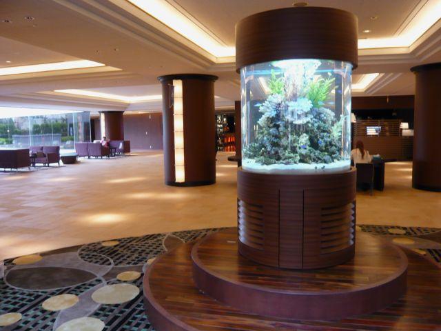 浦安市 ホテル ランドマーク水槽2